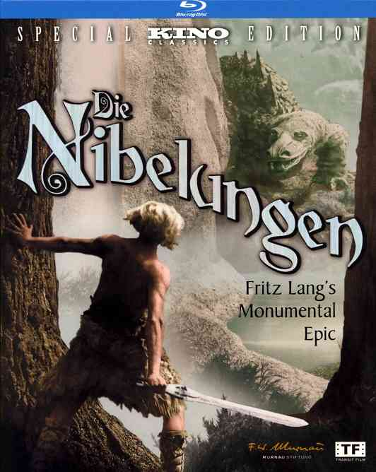 DIE NIBELUNGEN:DELUXE REMASTERED EDIT BY RICHTER,PAUL (Blu-Ray)